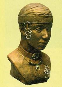 Женщина из племени Меря
