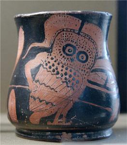 Афина в образе совы.